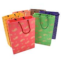 Glitter Gift Bags-Set of 6
