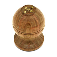 MIA-2114,Round Wooden Incense Holder-a