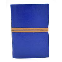 MJA-2920,Blue Leather Journal-a