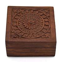 MWA-1436,Daffodil Bliss Wooden Box-a