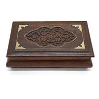 MWA-1440,Delightful Flowers Wood Decorative Box2-a