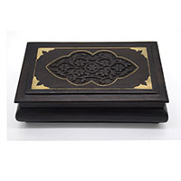 Delightful Flowers Wood Decorative Box