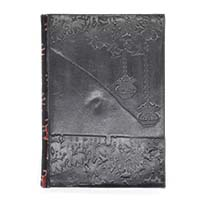 MJA-2919, Embossed Floral Journal-a