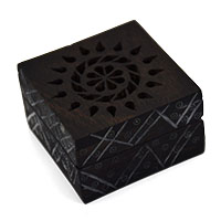 Glorious Flower Antiqued Gift Box