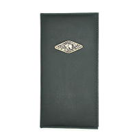 Black Leather Writing Portfolio