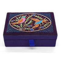 Dancing Birds Jewellery Box