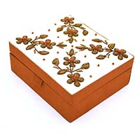 Beads Floral Jewellery Box