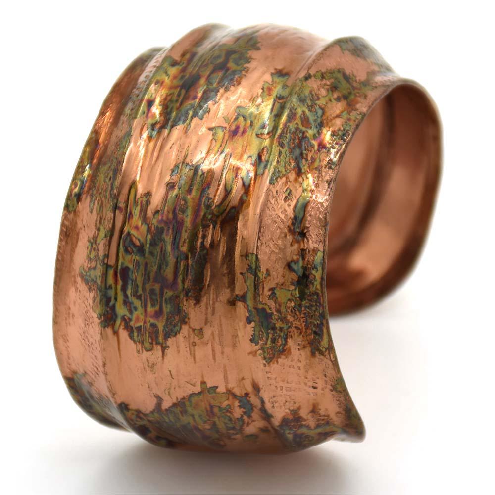 Hammered Textured Cuff