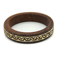Leaves Wood Bangle