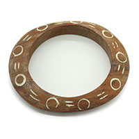 Dots Wood Bangle