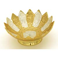 Gold & Silver Plated Small Bowl