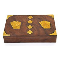 Play Card Wooden Box