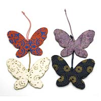 Butterfly Ornaments-Set of 4