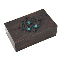 Spring Blossoms Wood Box