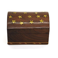 Star Small Wood Box