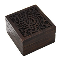 Daffodils Decorative Wood Box