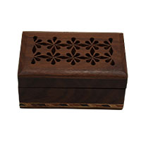 Floral Delight Wood Box