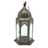 Beauty White Transparent Glass Lantern