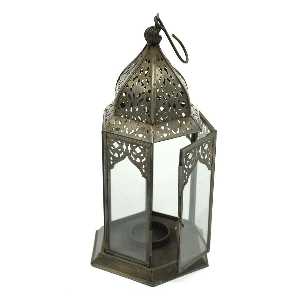 Beauty White Transparent Glass Lantern
