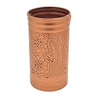 Jali Flowers Copper Tea Light Holder