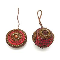 Ball Ornaments-Set of 2