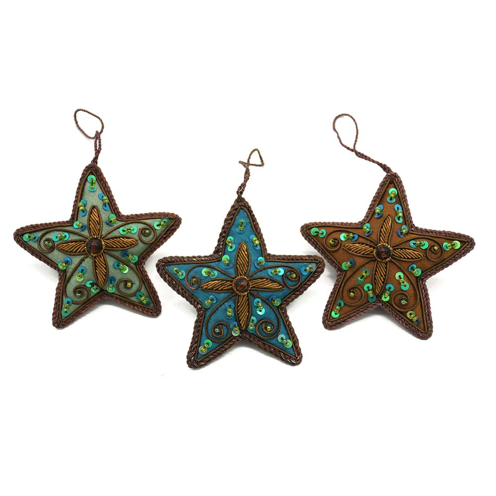 Starry Ornaments-Set of 3