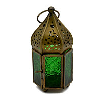 Starry Night Lantern-Green