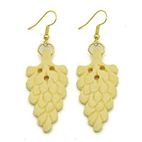 Bone Carving Earrings