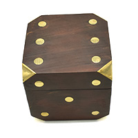 Dots Decorative Box & Dice Set