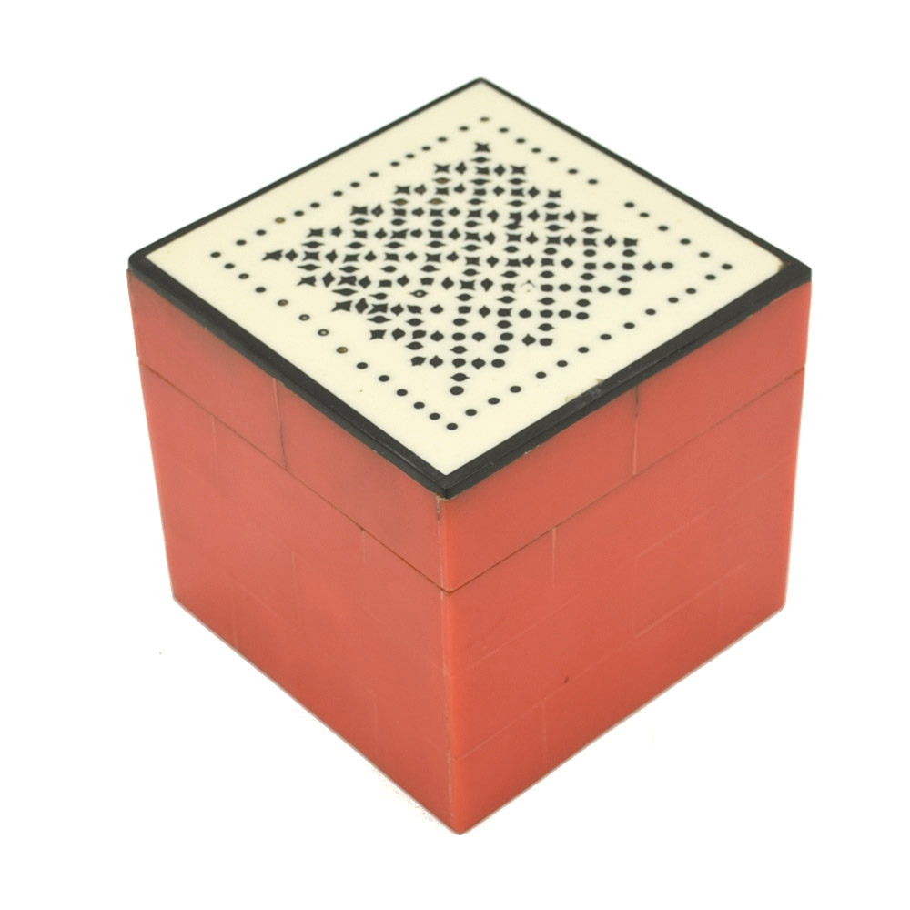 Traditional Decorative Gift Box-Red