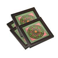 MCoA-1748,Mandala Coasters,Set of 4-a