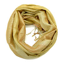 Soft Golden Multi Print Scarf
