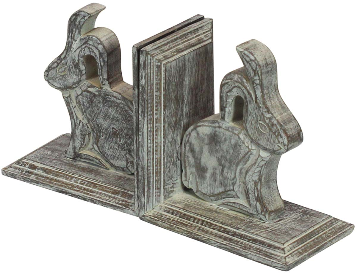 Bookends with Rabbits
