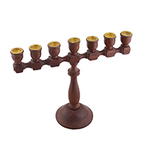 Handcrafted Candle Stand with 7 Holders