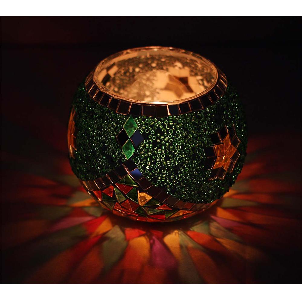 Votive Round Glass Candle Holder