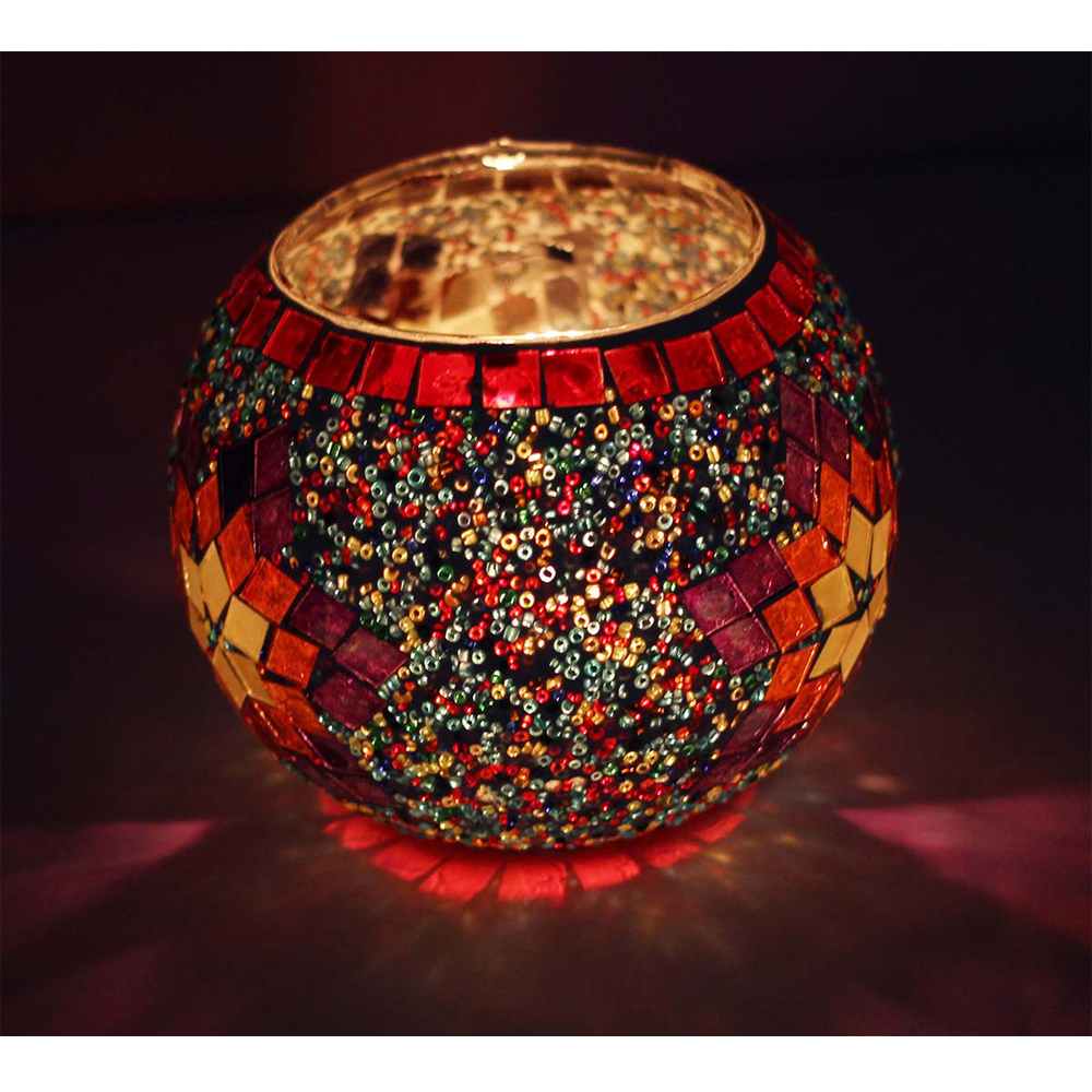 Votive Round Glass Candle Holder