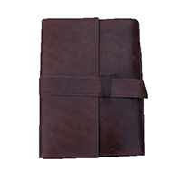 Flap Brwon Leather Journal