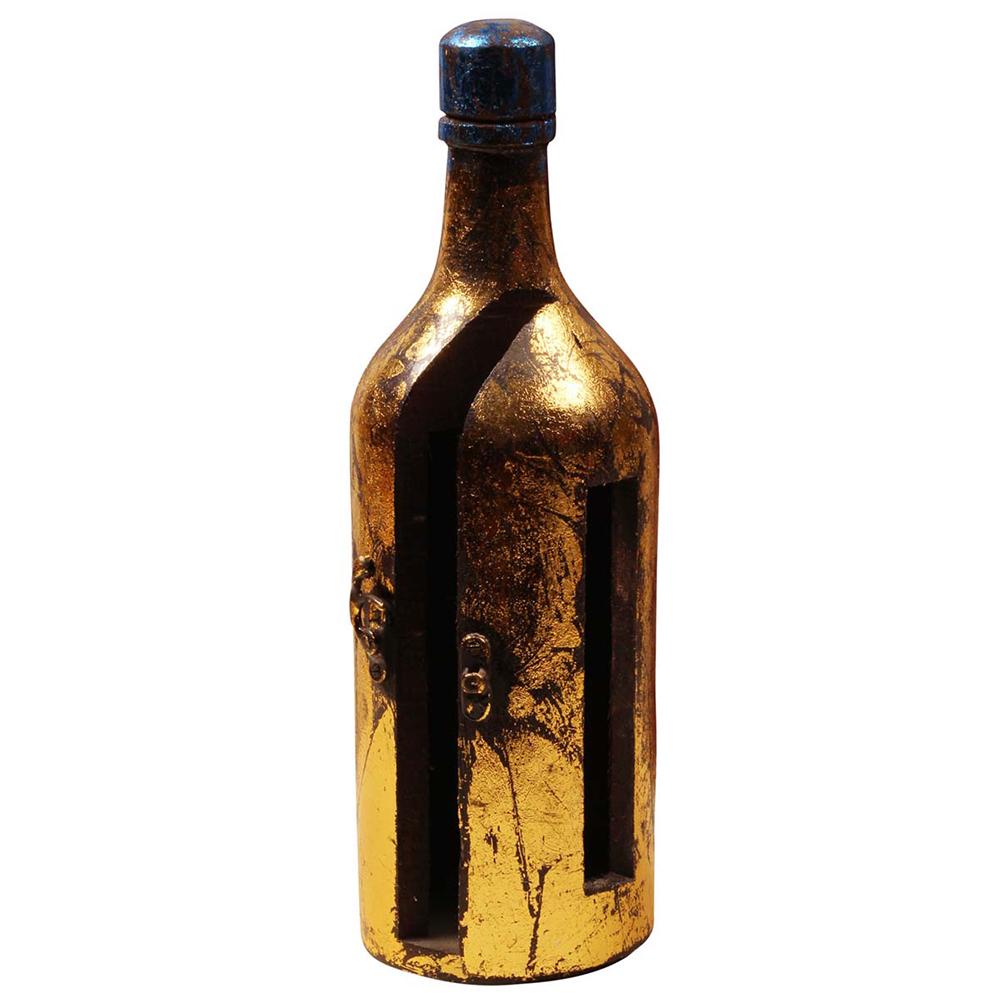 Bottle Shaped Handmade Napkin Holder