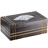 Rectangular Wooden Tissue Holder