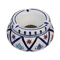 Decorative  Ceramic Ashtray Holder Slots