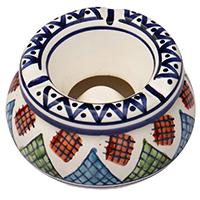 Ceramic Moroccan Ashtray  Safi Design