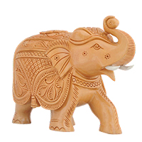 Trunk-Up Elephant Figurine