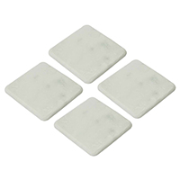 Textured Marble Coasters – (Set of 4)