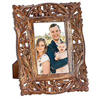Wooden Photo Frame in Jaali Work