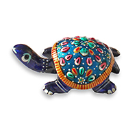 Tortoise Statue with Meenakari Work