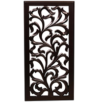 Black Wall Hanging in Rectangle
