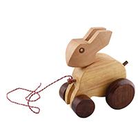 Rabbit on Wheels' Toy