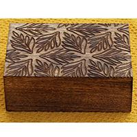 Rectangular Wooden Jewelry
