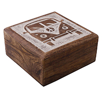 Mercedes Bus'Carved Wooden Jewelry Box