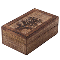 Set of 3 Wooden Jewelry Box